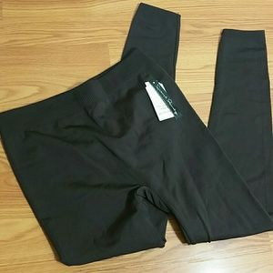 French Laundry New X-LARGE Fleeceback leggings